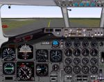 McDonnell                   Douglas DC-8 Series Panel v3.0 for FS2000
